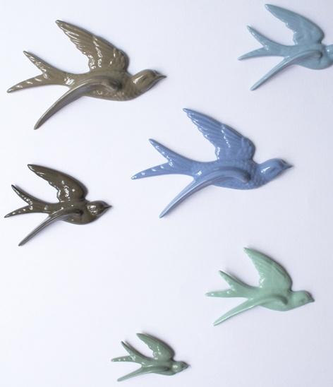 liebe birds - Liebe fugle - Blå - indretning - tinga tango designbutik - webshop - bolig - porcelæn - inspiration - blue