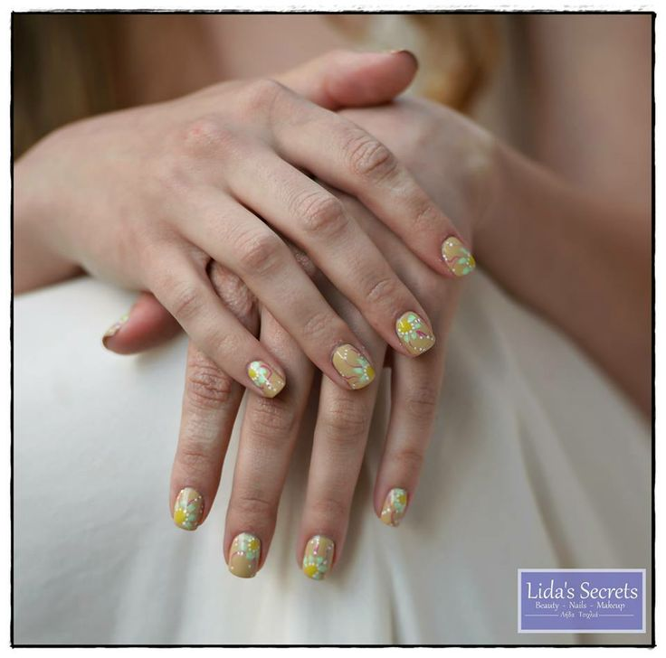 Our proposal for bridal manicure  by Lida's Secrets Spring-Summer '14 Inspiration: Boho-Earth