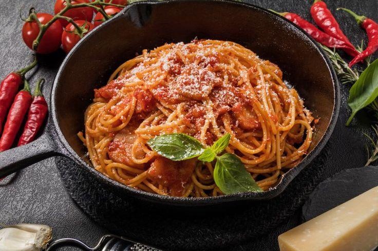 Spaghetti all 'Amatriciana
