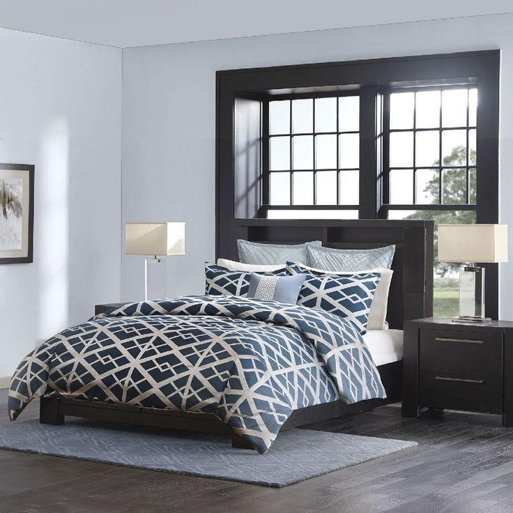 Kenmare in Blue Comforter Sets by Metropolitan Home