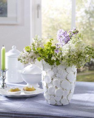 Vase aus Modelliermasse