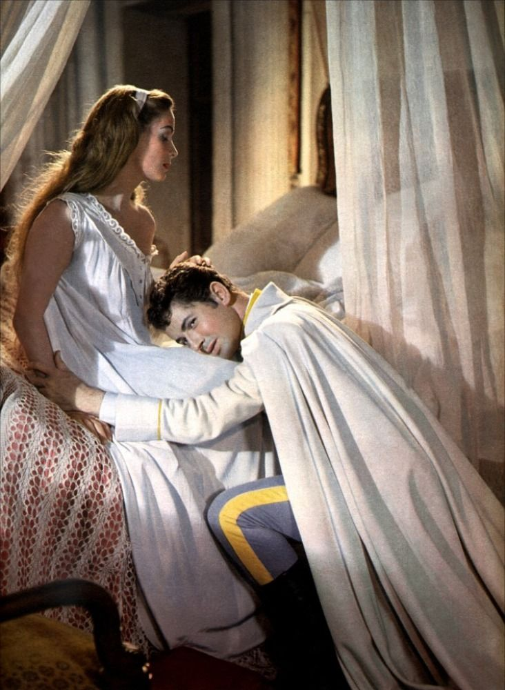 "Alida Valli, Farley Granger in ""Senso"" (1954). Country: Italy. Director: Luchino Visconti."