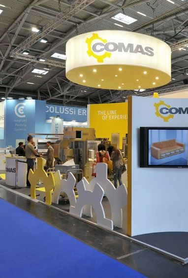 @aemexhibitions Comas trade show booth at IBA 2012 in Munich. www.aemexhibitions.com