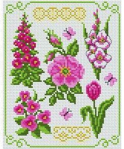 Fleurs en rose