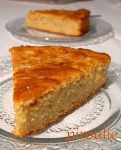Gâteau aux pommes râpées
