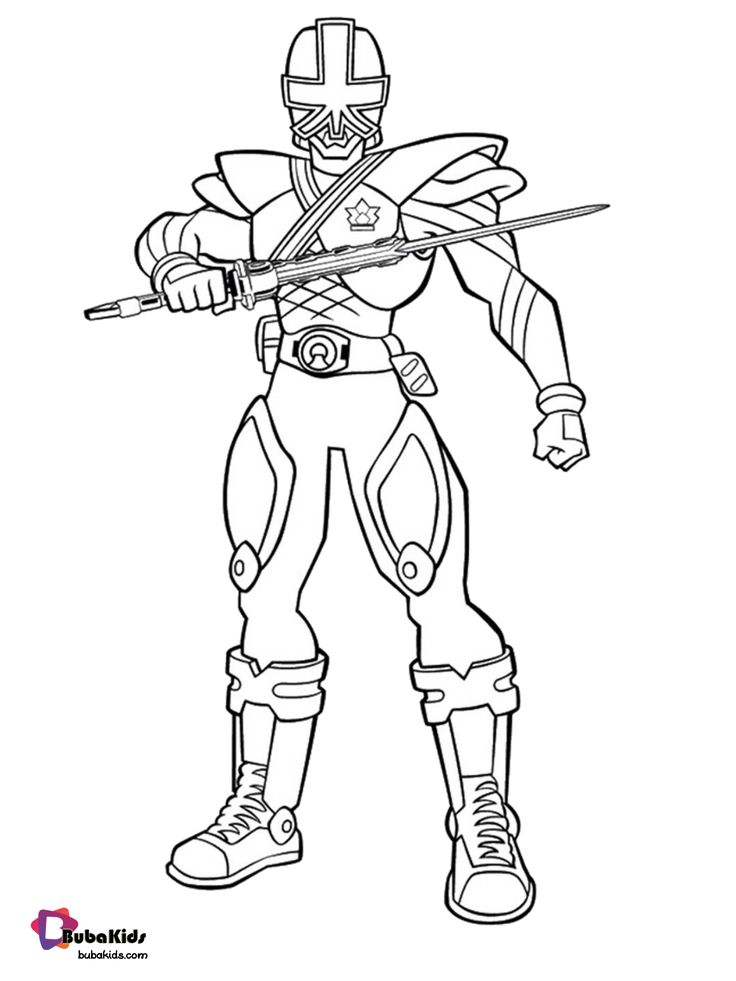Power Rangers Megaforce coloring pages to print. (With ...