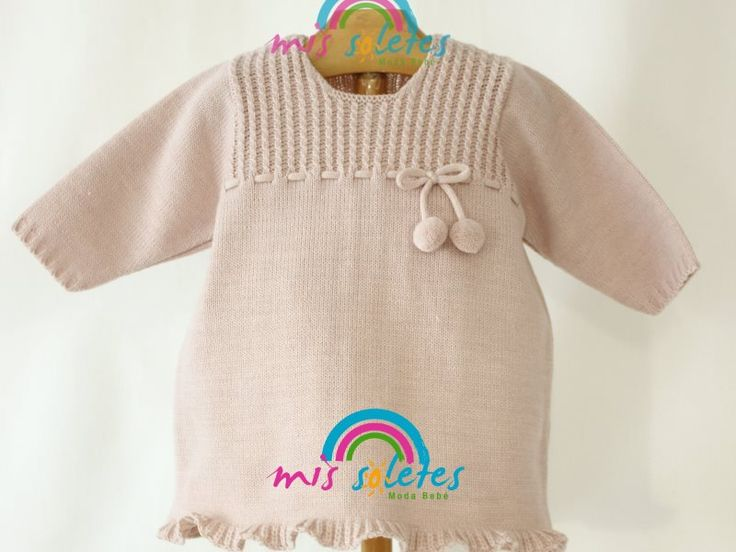 7 best Punto para bebés images on Pinterest | Dots, Moda and Knit dress