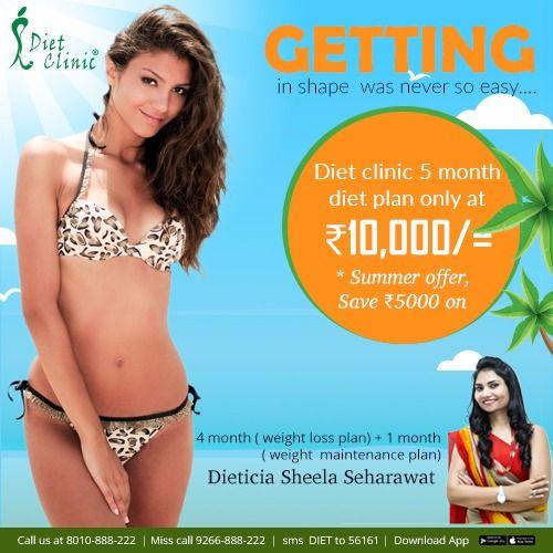 summer offer diet clinic faridabad