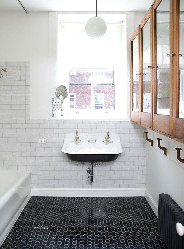 Kohler Brockway Sink in the Cottage Bathroom!