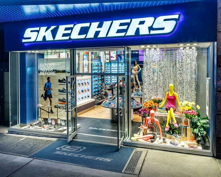 Skechers Shoe Store on Hollywood Blvd., Hollywood CA