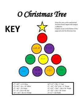 write a polynomial function given the zeros christmas activity worksheets. Black Bedroom Furniture Sets. Home Design Ideas