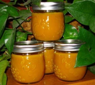 Hot Pepper Butter (Mustard) for Canning