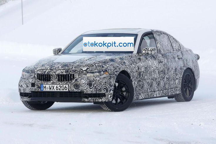 2018 Yeni Kasa BMW 3 Serisi Kamuflajlı