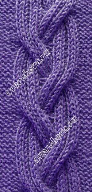 узор 471 - cabled knitting stitch