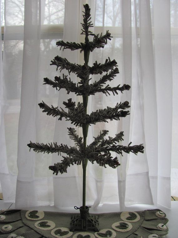 Wool Feather Tree Directions 8 12 18 24 and by ByTheBayNeedleart