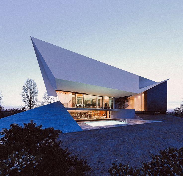 Villa by Creato #architecture #contemporary #luxury #modern #dubai #emirates #design #creato #villa #home #facade #backyard  contacto@creatoarquitectos.com