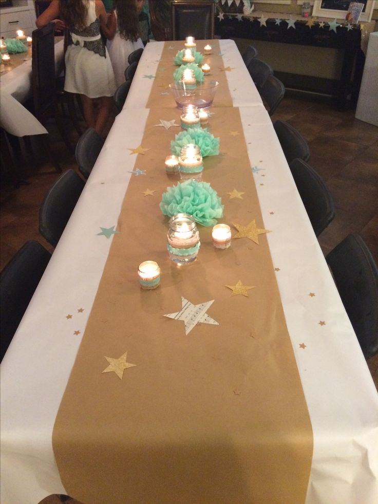 25 best ideas about star theme party on pinterest star Baby shower table setting