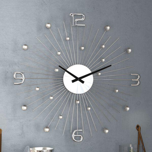 Caysie Wall Clock Clock Oversized Wall Clock Wall Clock