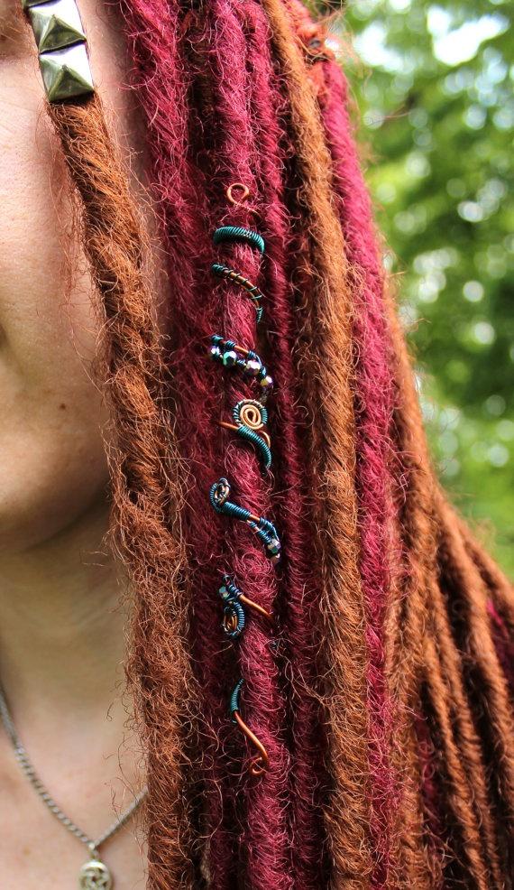 Gypsy Hair Wrap 'Night Dream' by GwendolynnNoel on Etsy, $20.25