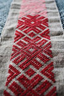 viking handcraft: Slawische und baltische Stickereien