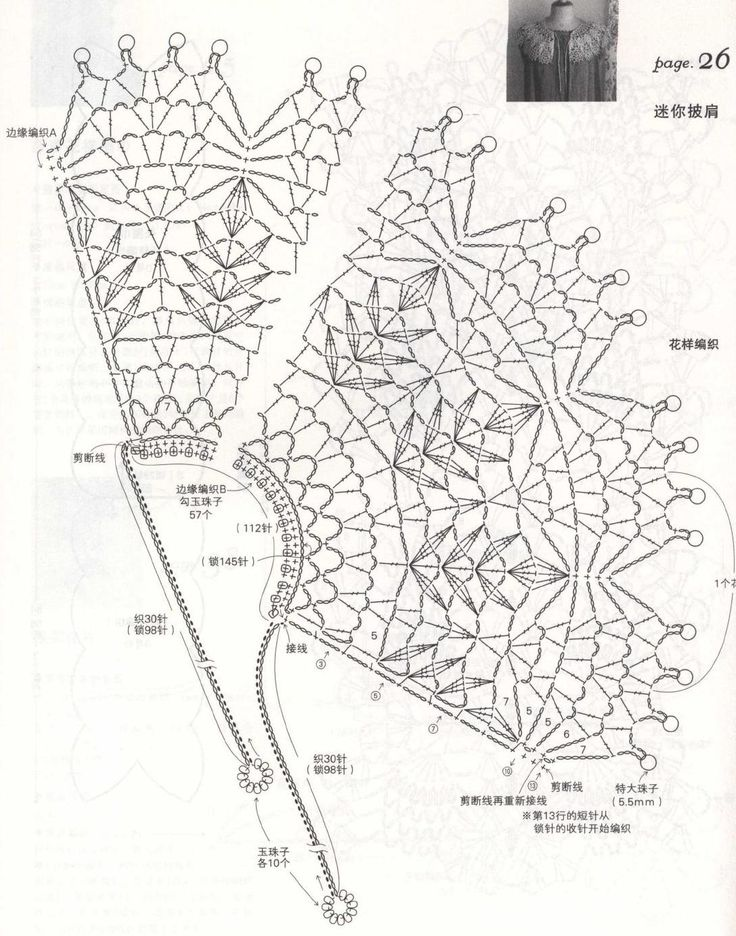 #ClippedOnIssuu from Elegant crochet lace