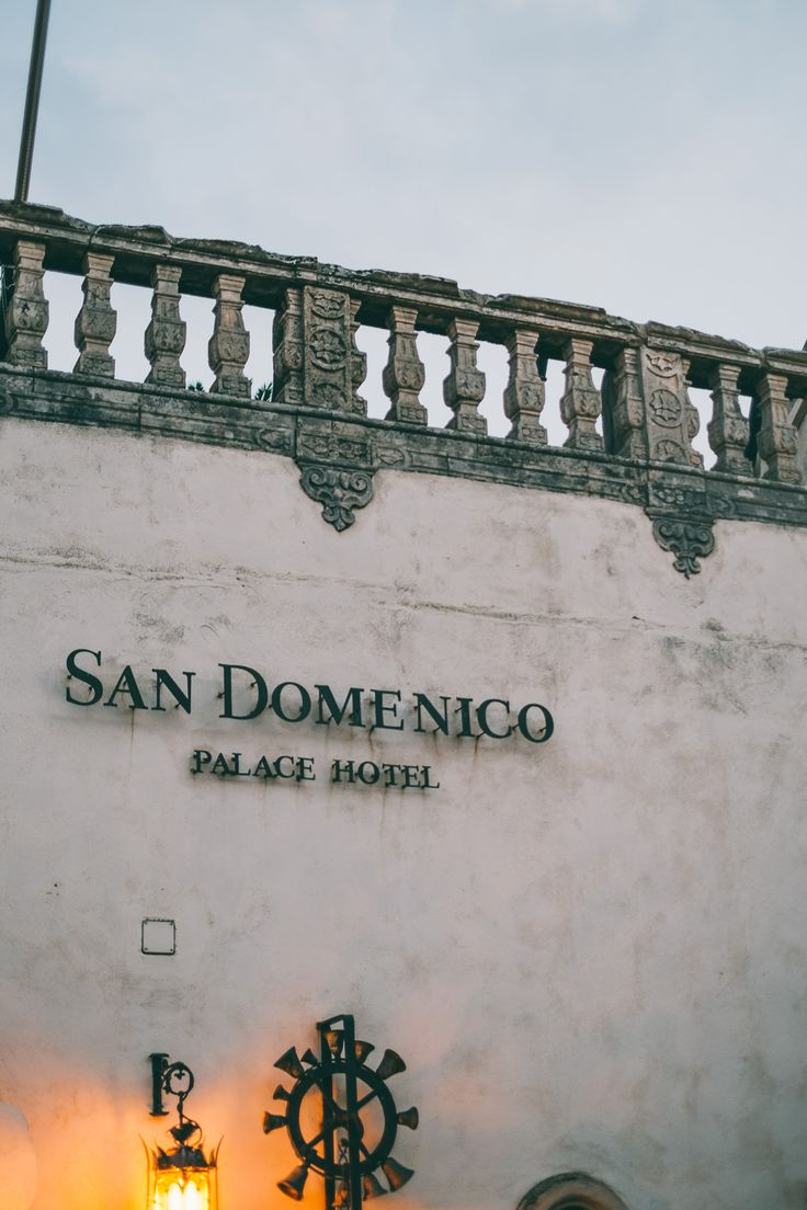 The San Domenico Palace Hotel.  Old world luxury in Taormina, Sicily.  Click through to see the pictures... #taormina #siciliy #italy #hotel