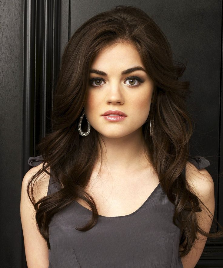 Lucy Hale,  I freaking love her, her eyebrows are perfect, and you know everything else about her too.