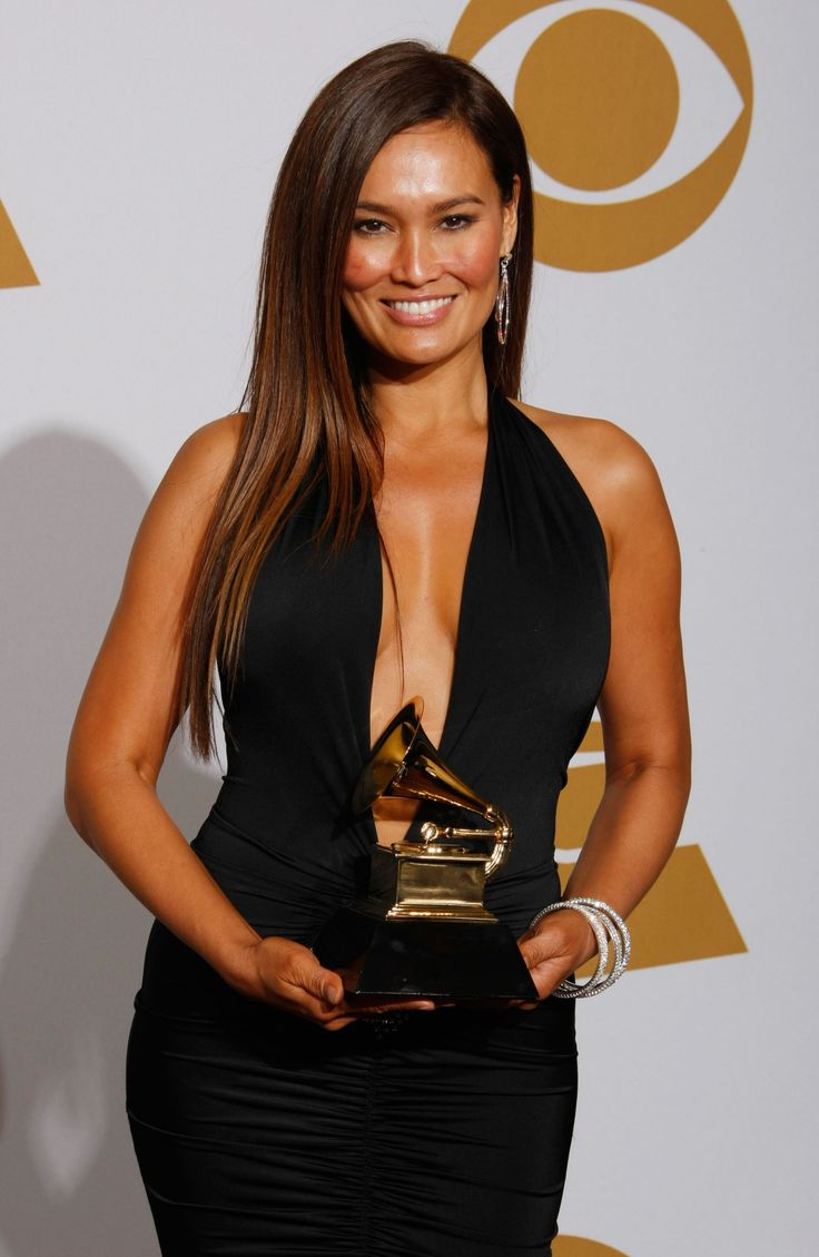 Tia Carrere - 51st Annual GRAMMY Awards