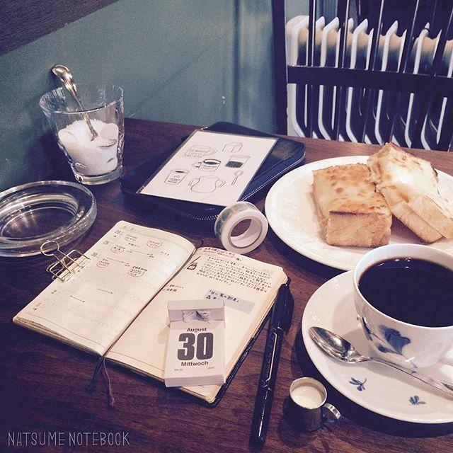 喫茶店のトーストを美味しく食べるため、日頃からお米とお味噌汁中心の食事を心がけてます。。 #宮越屋珈琲 #旭川#喫茶店#cafe#サンドイッチ#コーヒー#coffee#能率手帳#能率手帳ゴールド#ほぼ日手帳 #ほぼ日手帳オリジナル#トースト#日めくりカレンダー#ポストカード#山鳩舎#サブロ#sublo#マスキングテープ #マステ#万年筆#マッキー#ふせん#ランチ