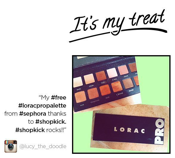 She traded her shopkick kicks for a Sephora gift card & snagged ...