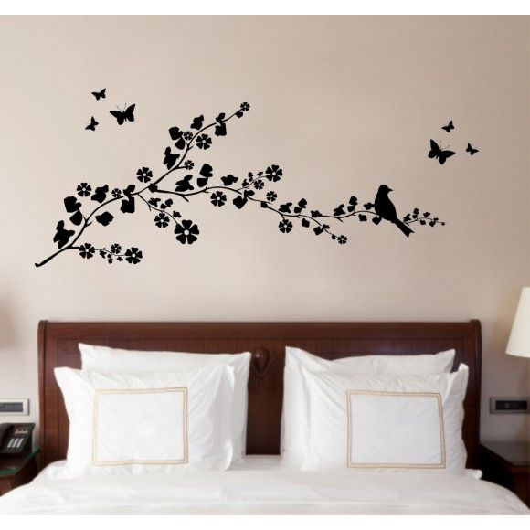 Gorgeous wall art sticker! Made in UK - £20.93 Delivered to your door! And you can pick the colour.. http://www.madecloser.co.uk/christmas/gifts-wall-art/birds-on-a-branch-quote