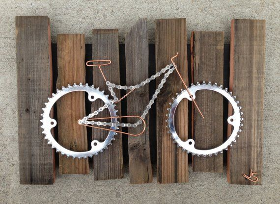 Ähnliche Artikel wie Fahrrad-Kunst – Rustico auf …