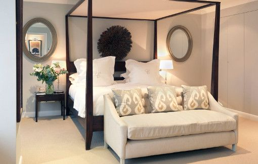 Luxury Bedrooms at Calcot Manor near Tetbury, Gloucestershire