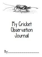 Teaching the Life Cycle of a Cricket