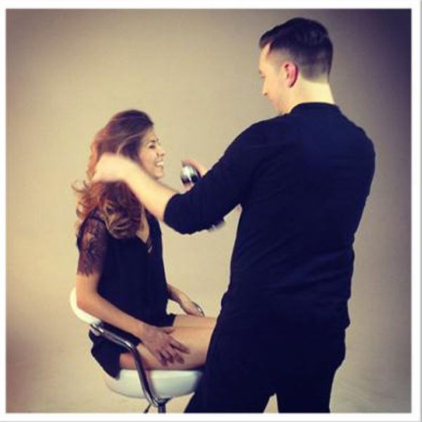TRESemmé Hairstylist Shows Us How To Achieve Perfect Volume on The Fabulist | E! Online Mobile