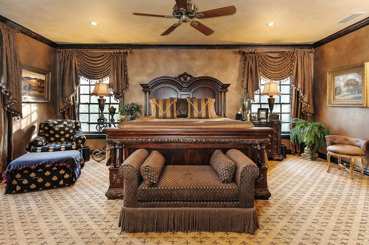 The home includes five bedrooms, six full bathrooms and two half baths, according to Mrs. Allen. Mr. Allen, 61, is the president and CEO of Association Insurance Management, a Dallas-based insurance business. Mrs. Allen, 51, is a homemaker.