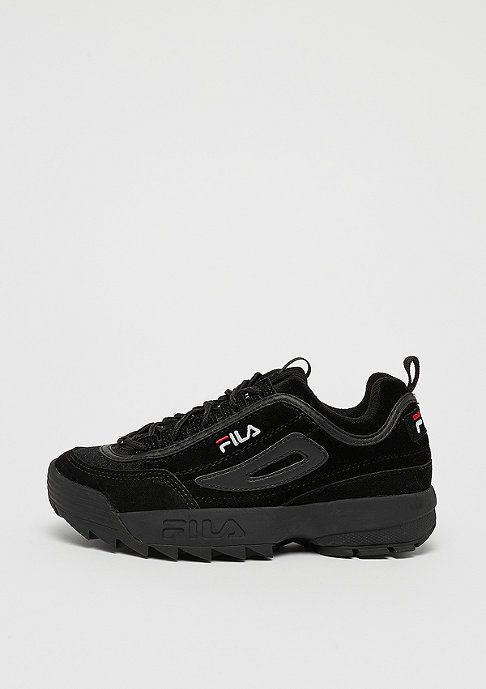 Damen Fila for SNIPES Disruptor Low WMN black schwarz ...