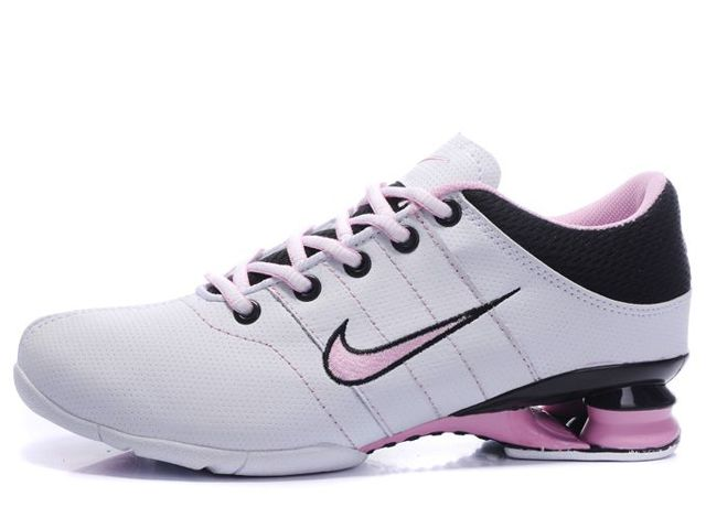 Chaussures Nike Shox R2 Blanc/ Rose/ Noir [nike_12152] - €50.87 : Nike Chaussure Pas Cher,Nike Blazer and Timerland    https://www.facebook.com/pages/Chaussures-nike-originaux/376807589058057