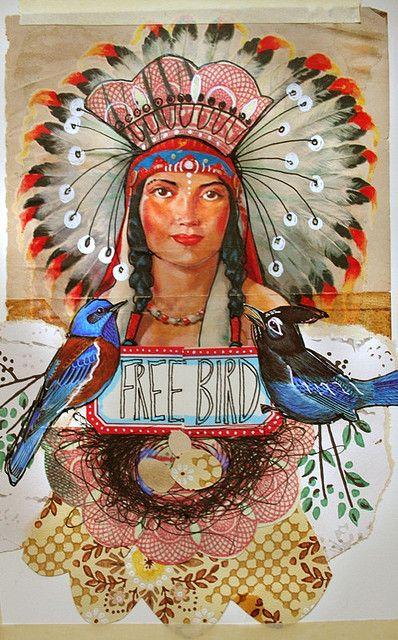 Free Bird by Anahata Katkin