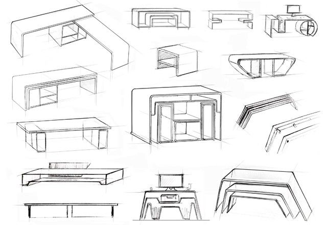Modern Furniture Drawings mobilier moderne design croquis design ideas 12542 furniture