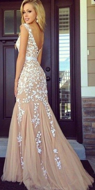 Long Prom Dresses, Sexy Prom Dresses, Newest Mermaid appliques prom dresses London  Love it! checkout www.sweetpeadeals.com for dresses up to 80% OFF!