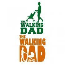 The Walking Dad SVG Cuttable Design