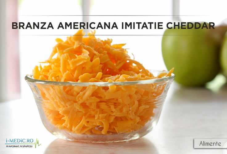 BRANZA AMERICANA Calorii: 100 g - 238.95 calorii http://www.i-medic.ro/diete/alimente/branza-americana-imitatie-cheddar