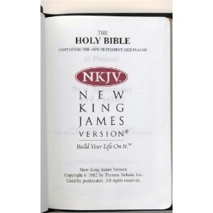 The Bilingual Romanian - English NKJV New Testament and Psalms / Noul Testament si Psalmii Cornilescu Version / Cuvinte Domnului in rosu - Words of Christ in Red / Leather Bound, Golden Edges  $59.99
