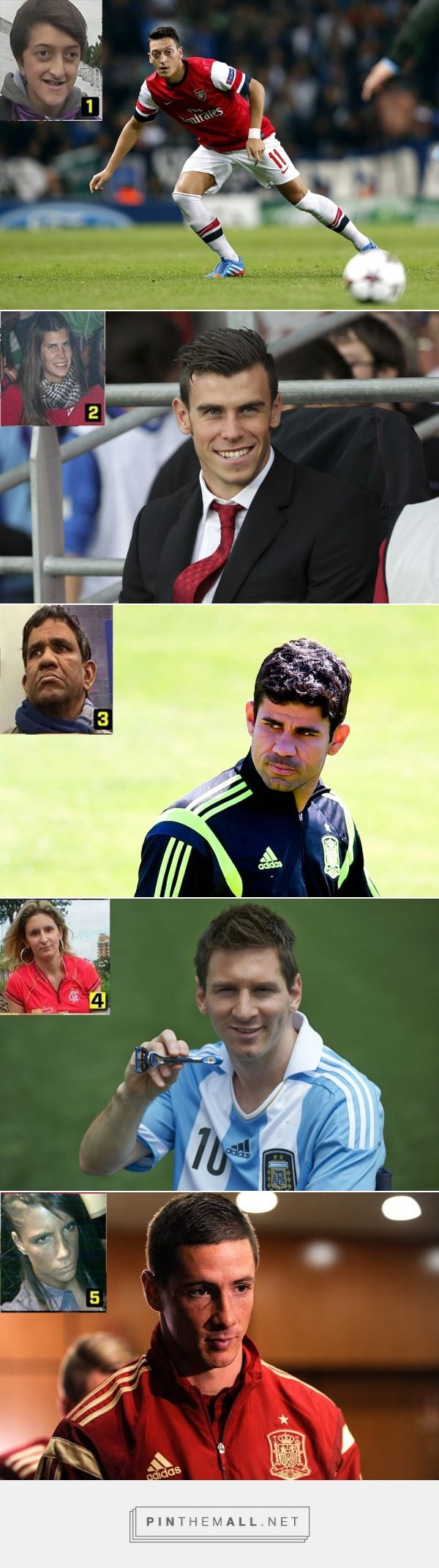 LOL- 9 Real Copies of Football Stars Wil Make You Laugh - ZooMrz