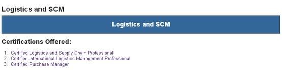 Vskills offering certification in Logistics & SCM