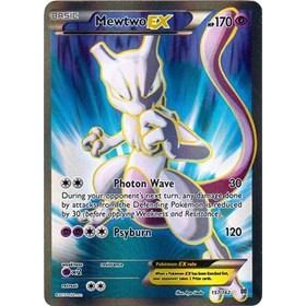 Pokemon TCG Singles XY Breakthrough Ultra Rare 157/162 Mewtwo EX Full Art Unplayed NM