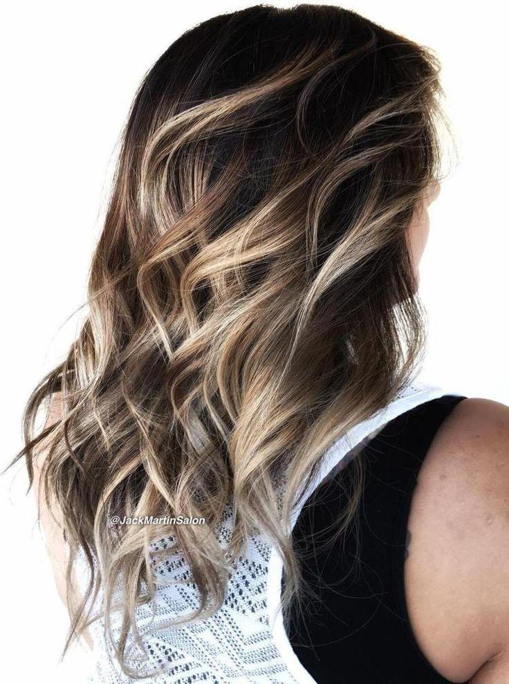 Blonde Balayage Highlights For Brunettes