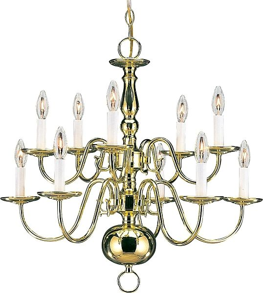Best 25 traditional chandeliers ideas on pinterest traditional seagull lighting 3413 02 ten light traditional chandelier in polished brass finish aloadofball Image collections
