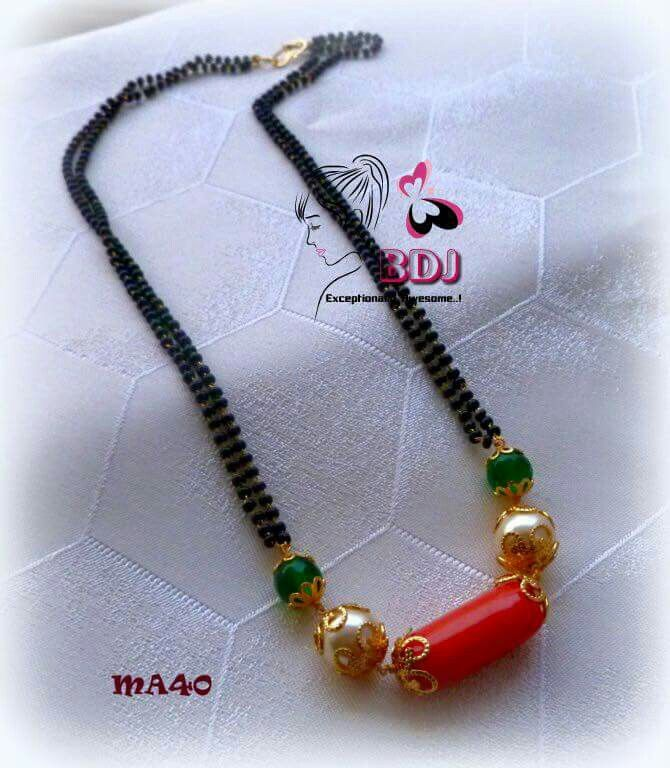 Pretty Coral Beads Necklace Indian Designs Ideas - Jewelry ...